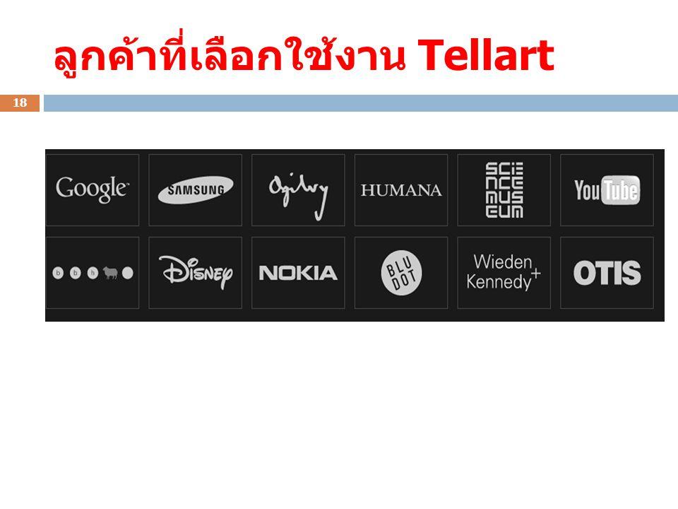 ลูกค้าที่เลือกใช้งาน Tellart