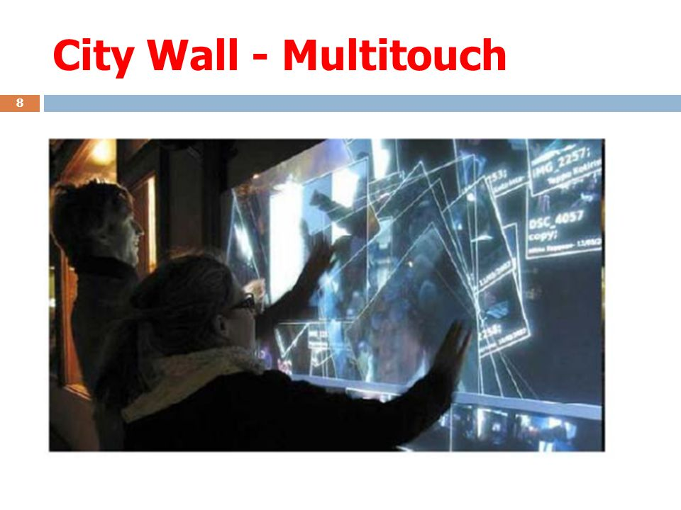 City Wall - Multitouch