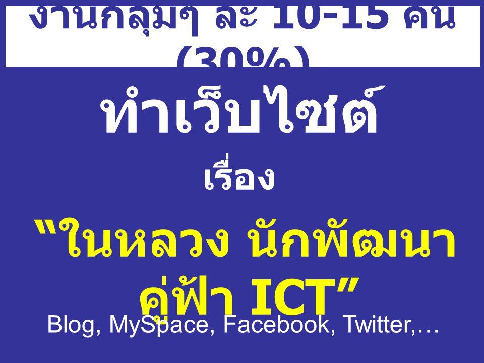 ในหลวง นักพัฒนา คู่ฟ้า ICT