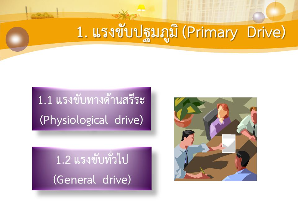 (Physiological drive)