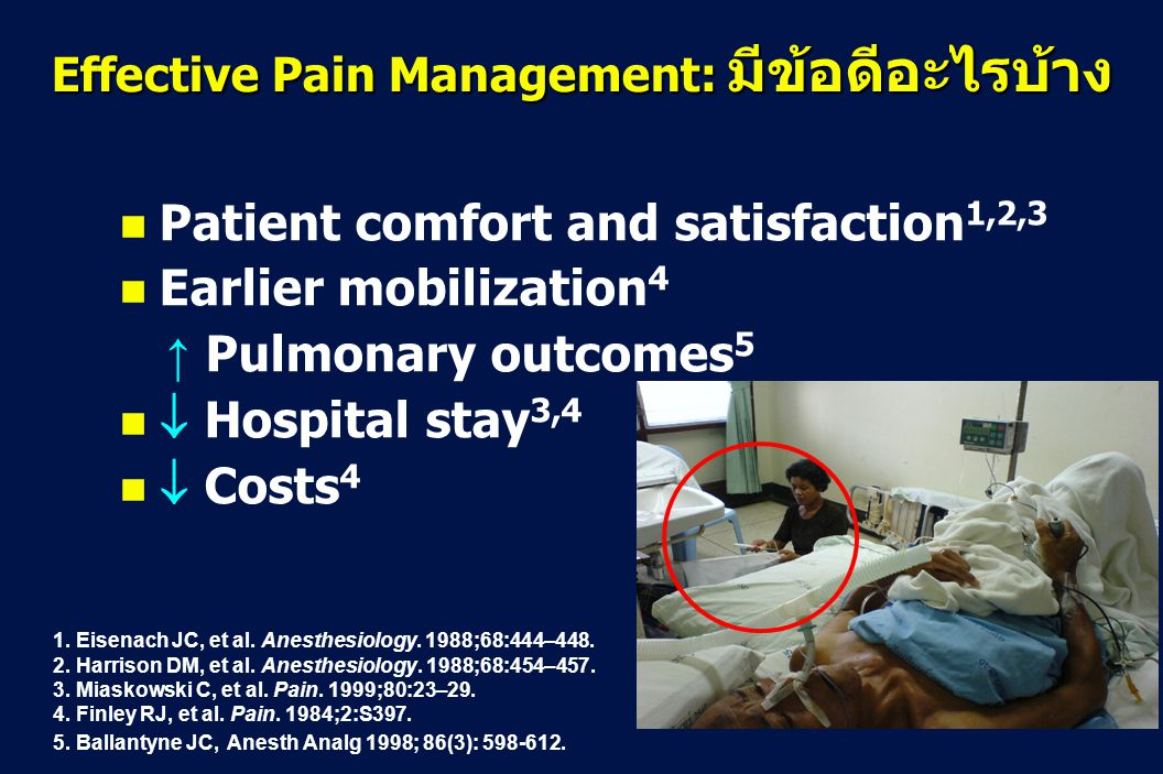 effective pain relief in postoperative patients essay Ppoosstt-- ooppeerraattiivvee ppaaiinn-- rreelliieeff  • effective analgesia is an essential part of postoperative  postoperative pain.