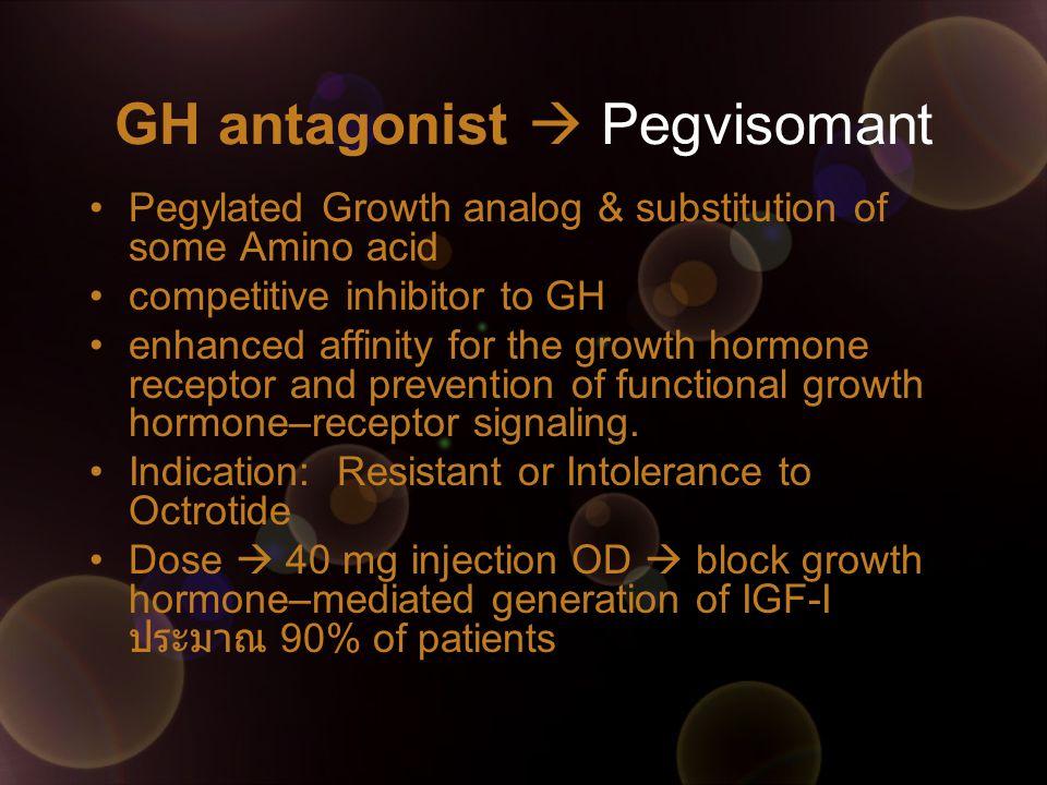 GH antagonist  Pegvisomant