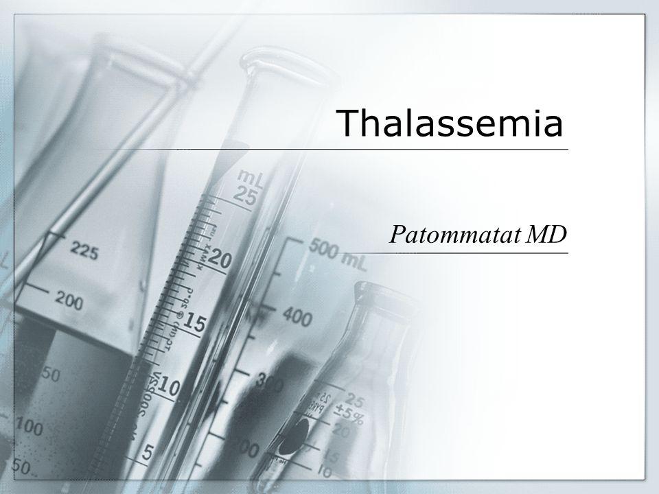 Thalassemia Patommatat MD