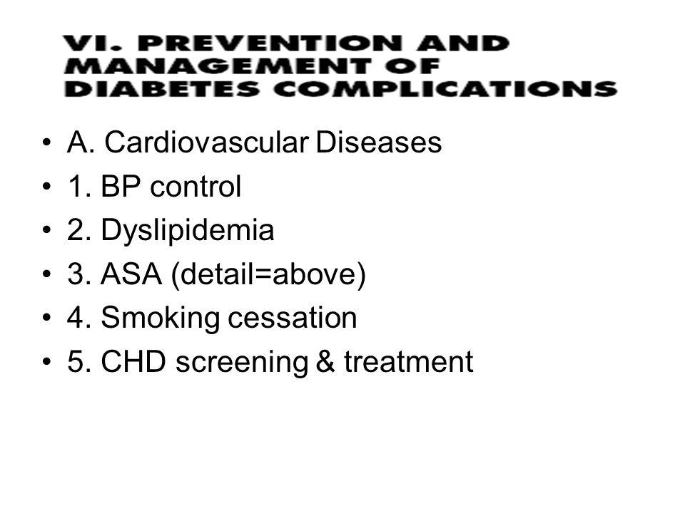 A. Cardiovascular Diseases