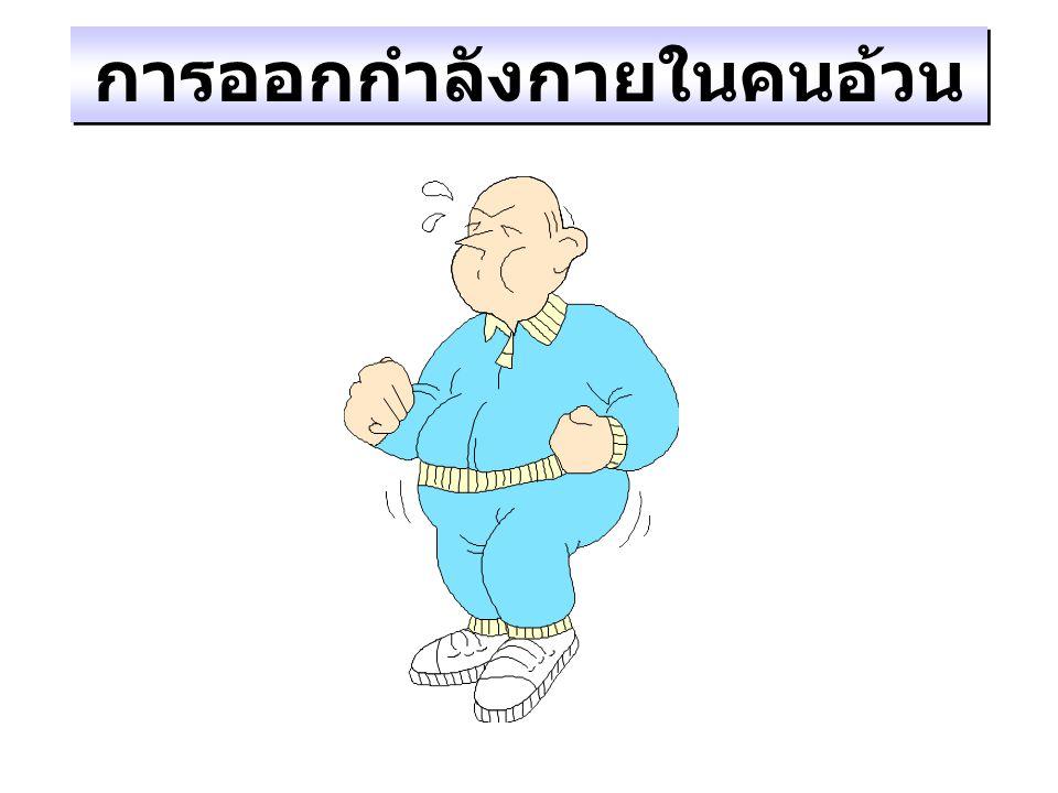 การออกกำลังกายในคนอ้วน