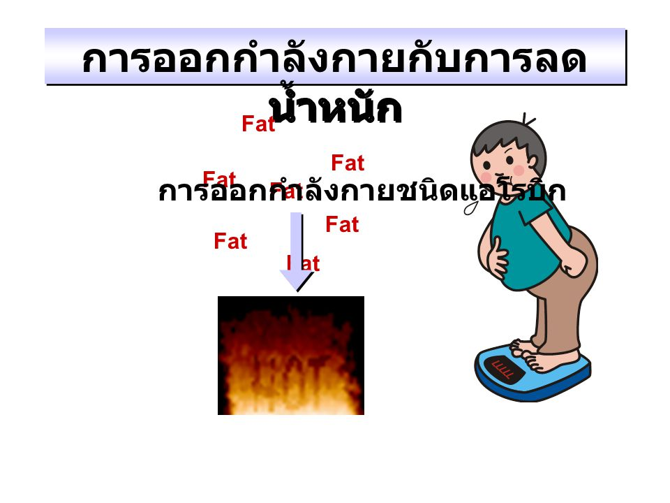 การออกกำลังกายกับการลดน้ำหนัก