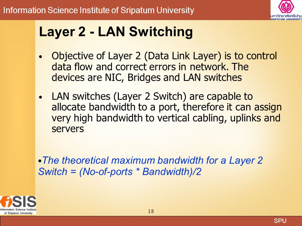 Layer 2 - LAN Switching