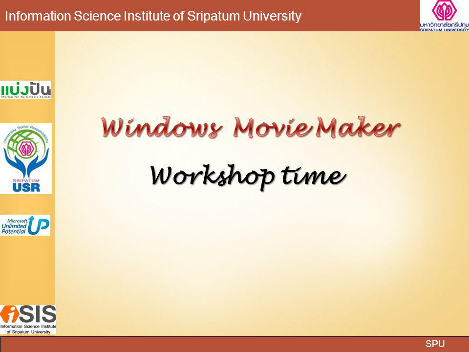Windows Movie Maker Workshop time