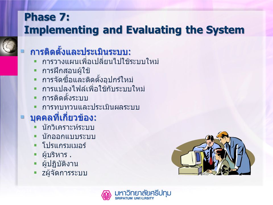 Phase 7: Implementing and Evaluating the System