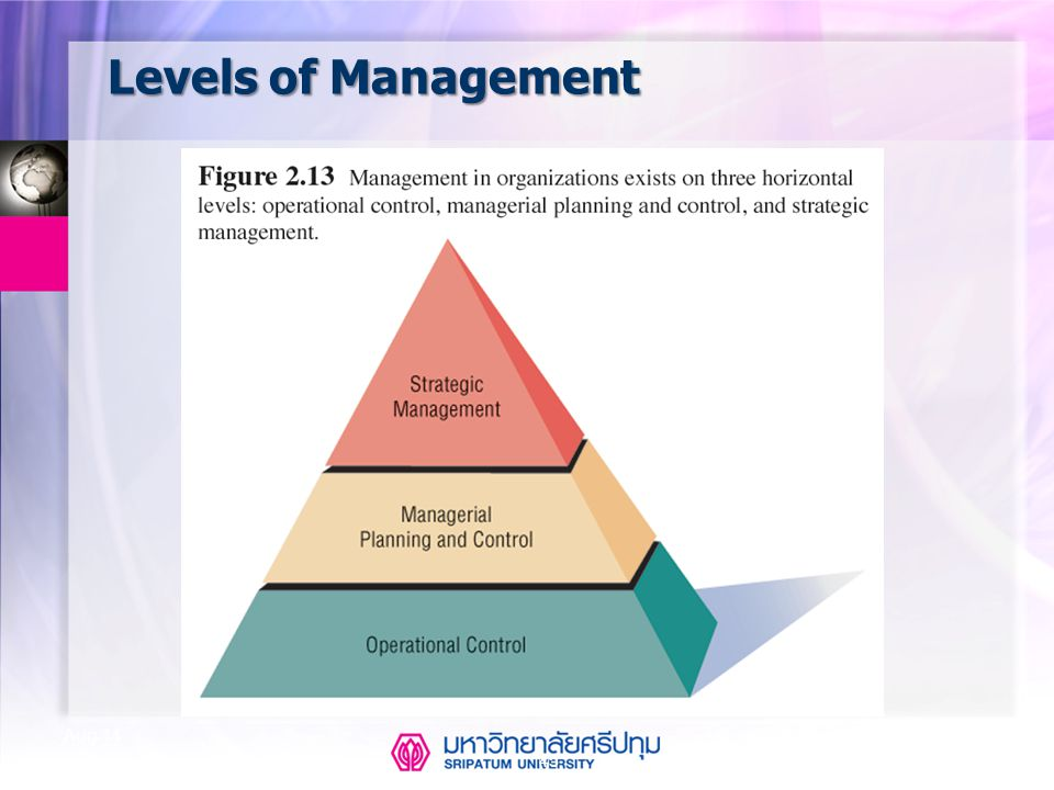 Levels of Management Apr-17