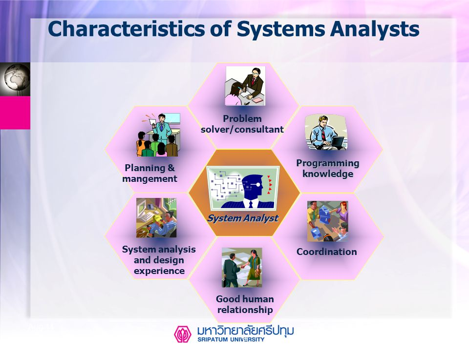 Characteristics of Systems Analysts