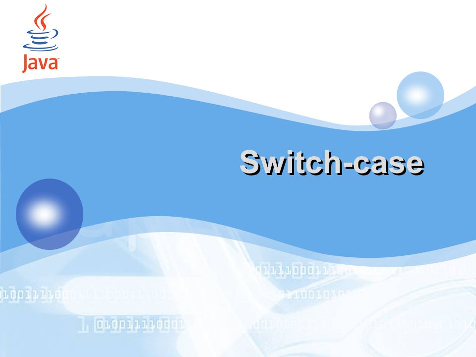 Switch-case by Accords (IT SMART CLUB 2006) by Accords 19