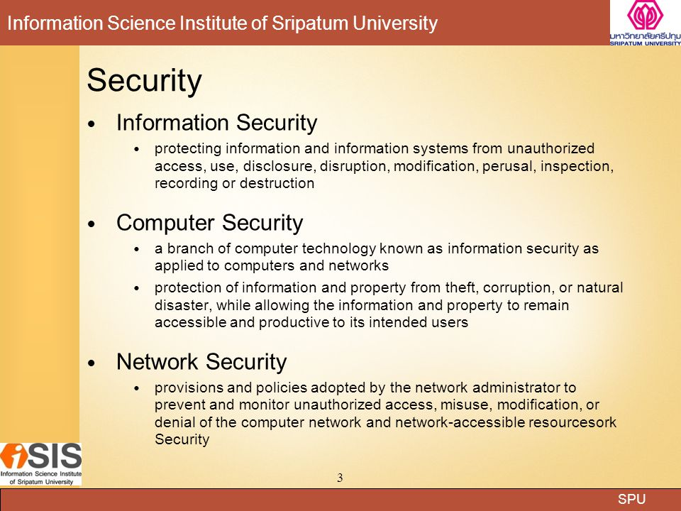 Security Information Security Computer Security Network Security