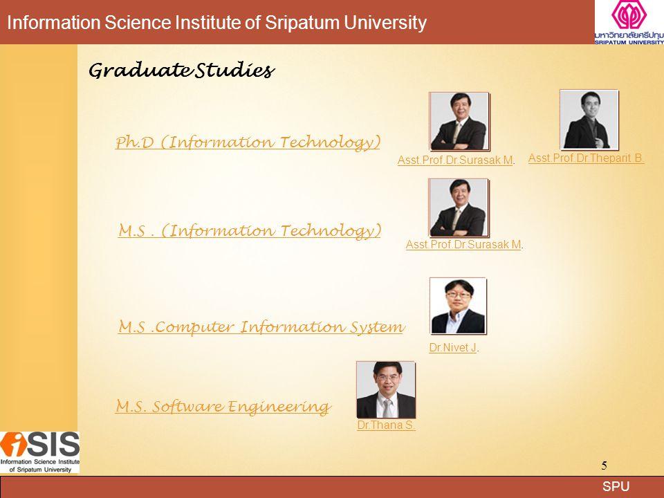 Graduate Studies Ph.D (Information Technology)