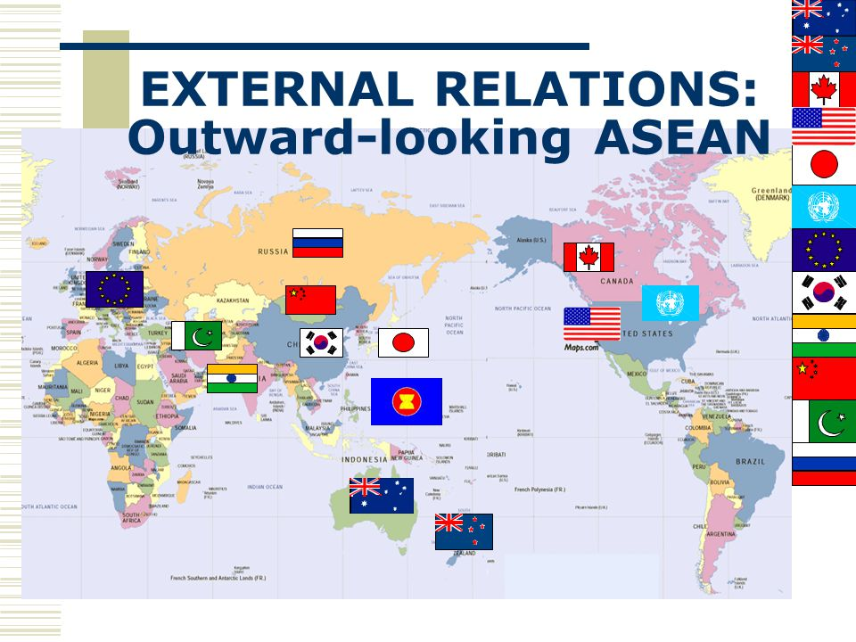 EXTERNAL RELATIONS: Outward-looking ASEAN