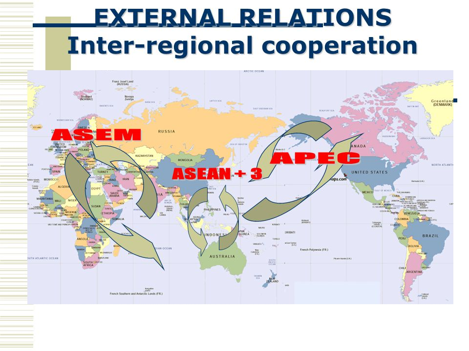 Inter-regional cooperation