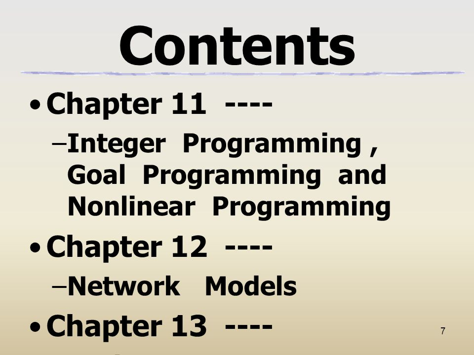 Contents Chapter 11 ---- Chapter 12 ---- Chapter 13 ----