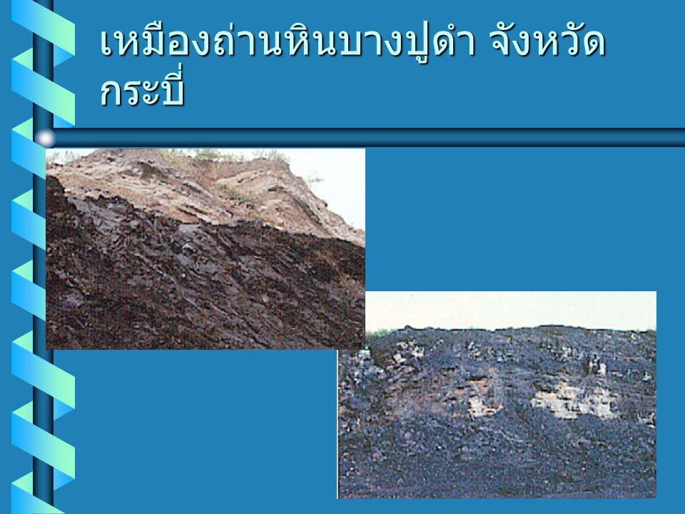 เหมืองถ่านหินบางปูดำ จังหวัดกระบี่