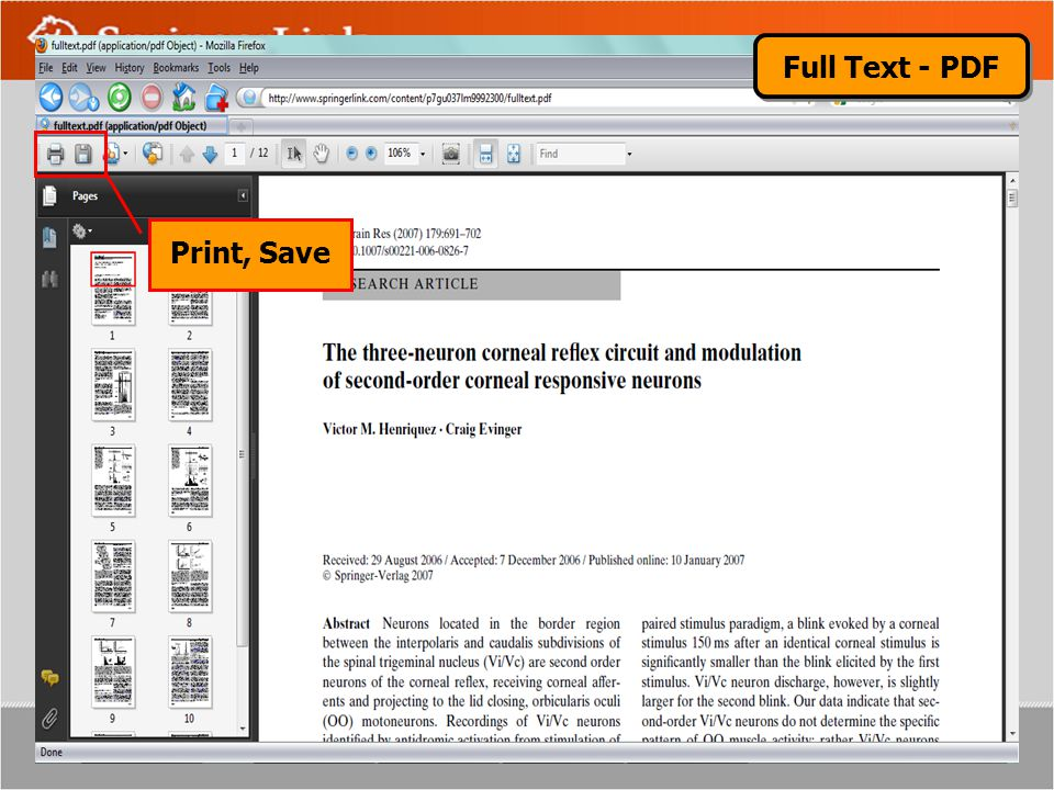Full Text - PDF Print, Save