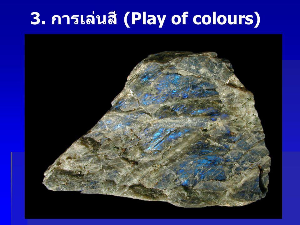 3. การเล่นสี (Play of colours)