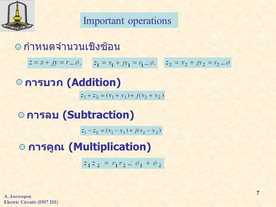 การคูณ (Multiplication)