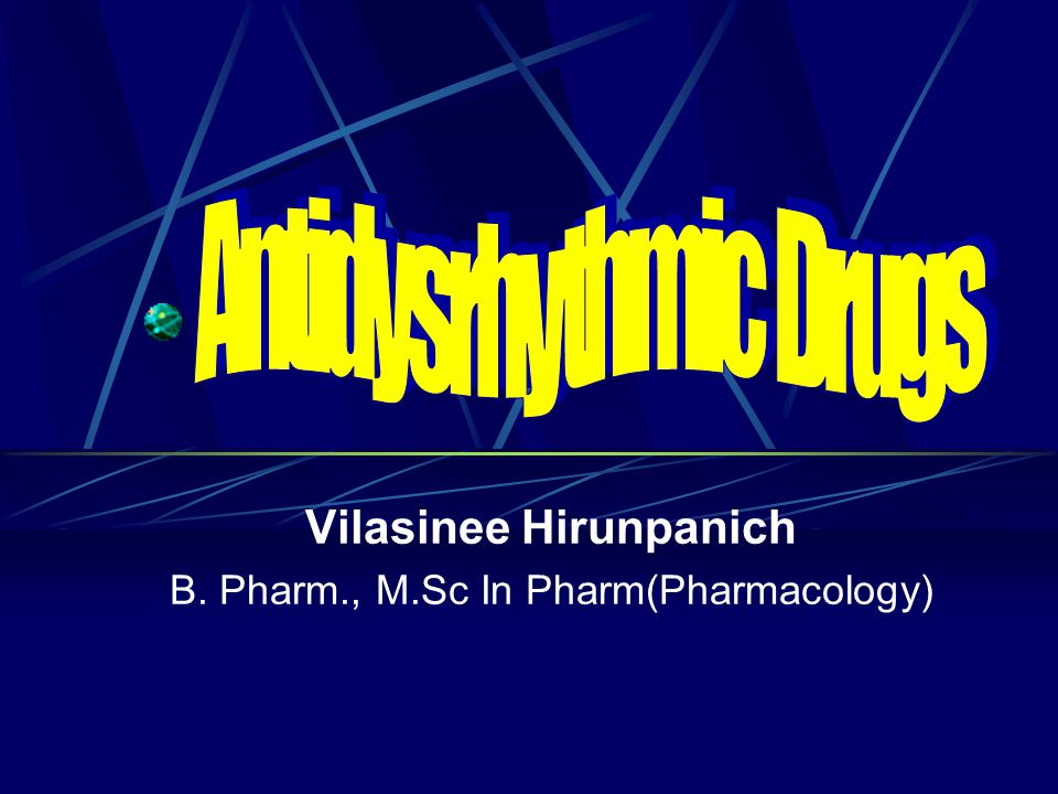 Vilasinee Hirunpanich B. Pharm., M.Sc In Pharm(Pharmacology)
