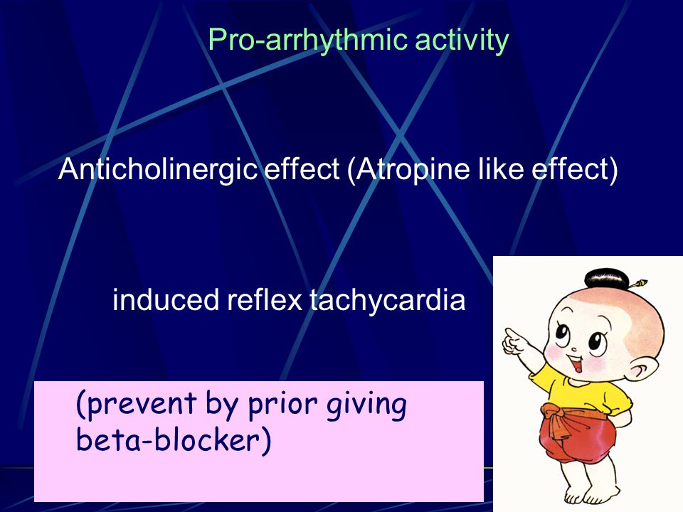 Pro-arrhythmic activity