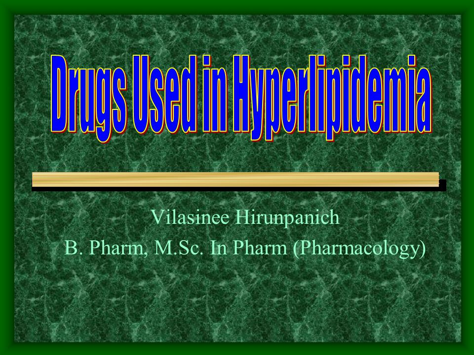 Vilasinee Hirunpanich B. Pharm, M.Sc. In Pharm (Pharmacology)