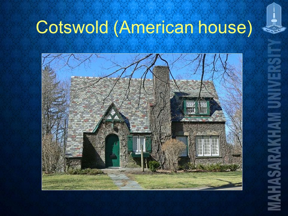 Cotswold (American house)