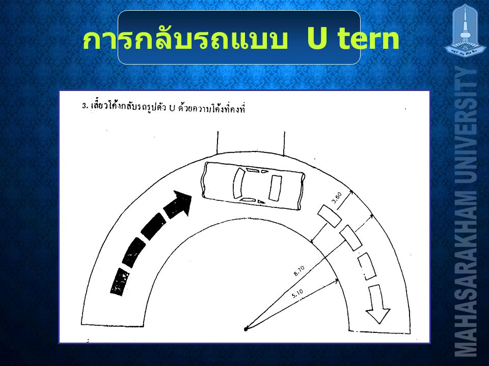 การกลับรถแบบ U tern