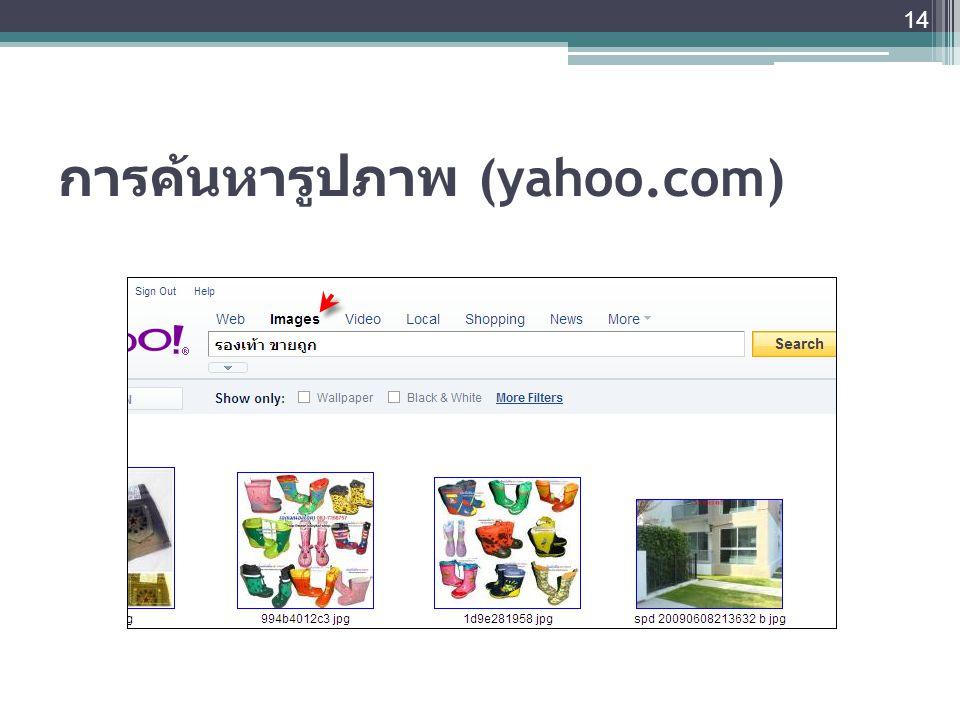 การค้นหารูปภาพ (yahoo.com)