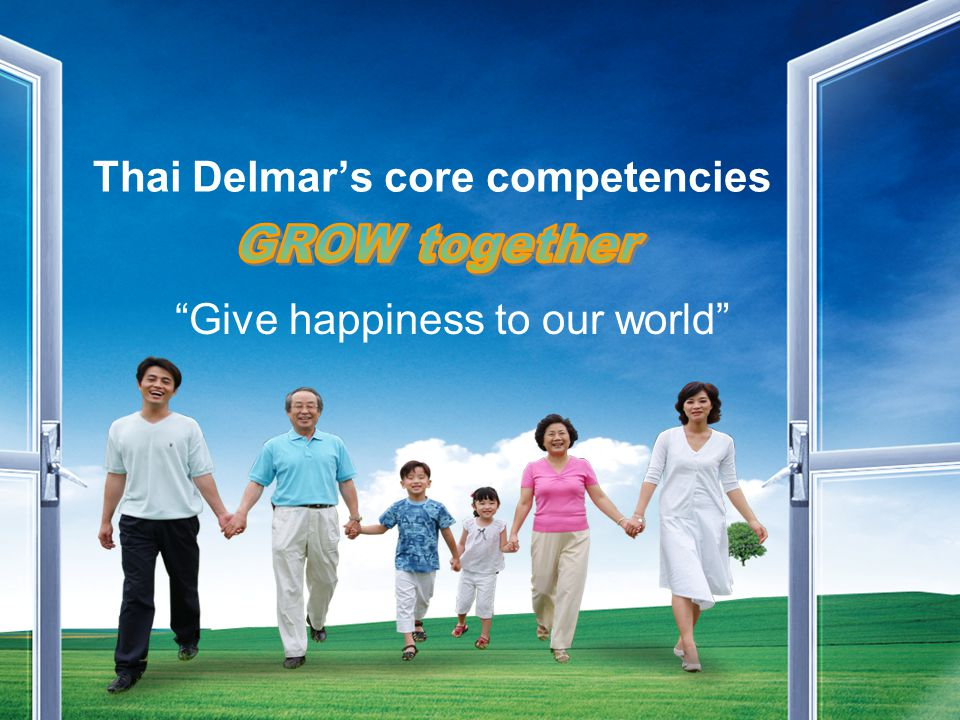 Thai Delmar's core competencies