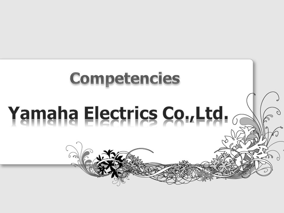 Yamaha Electrics Co.,Ltd.
