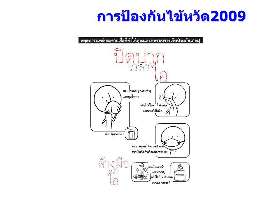การป้องกันไข้หวัด2009
