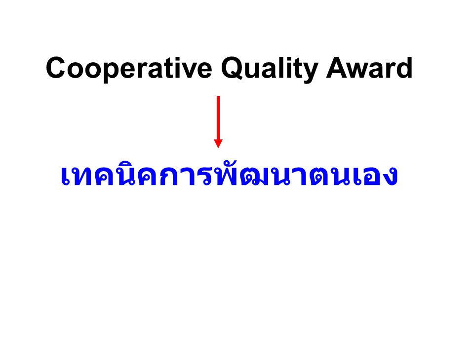 Cooperative Quality Award