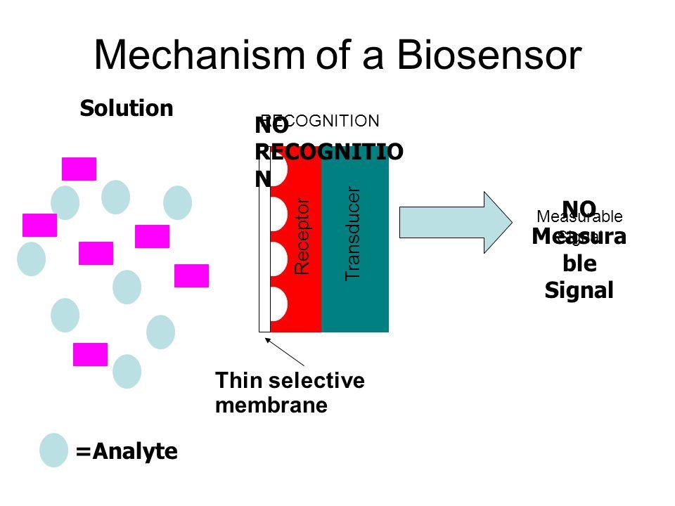 Mechanism of a Biosensor