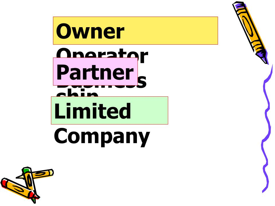 Owner Operator Business