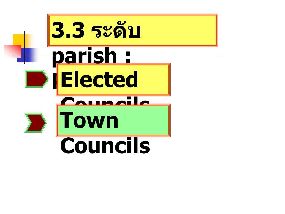 3.3 ระดับ parish : Parishes