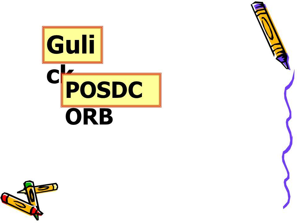 Gulick POSDCORB