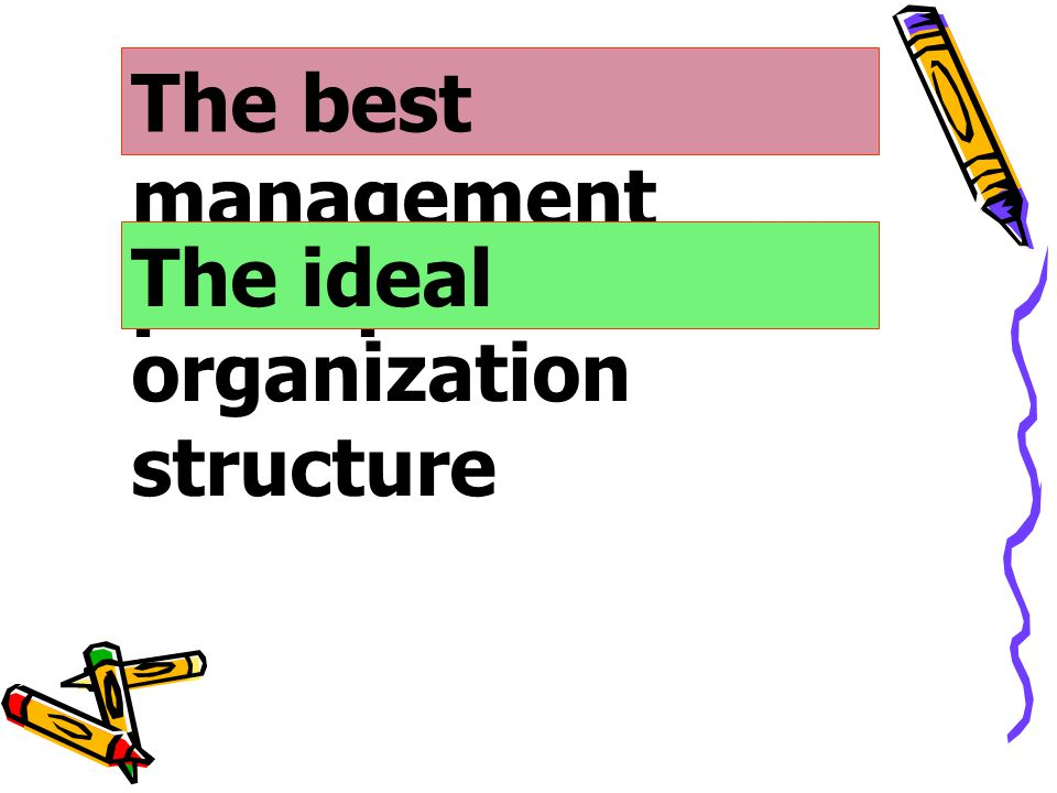 The best management principles