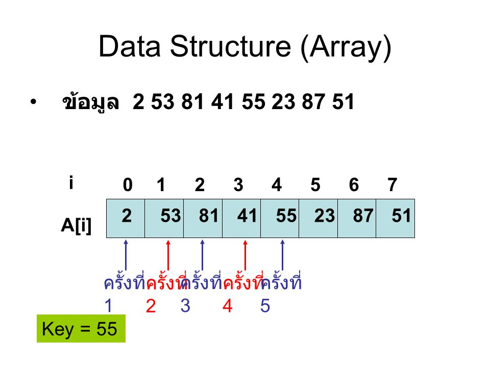 Data Structure (Array)