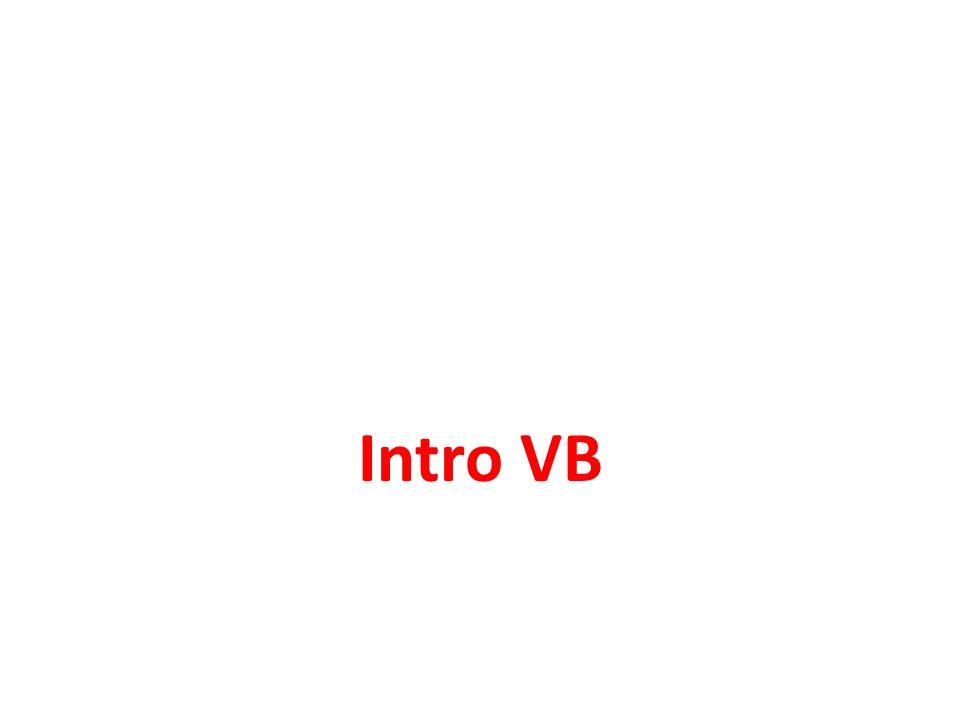 Intro VB