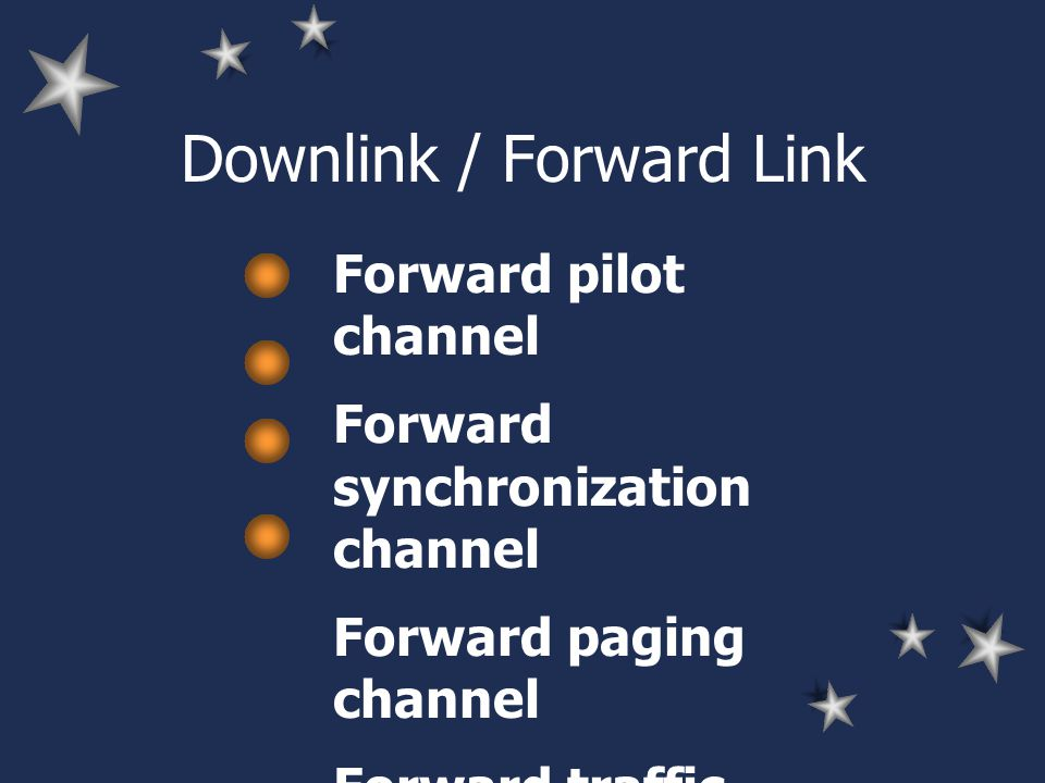 Downlink / Forward Link