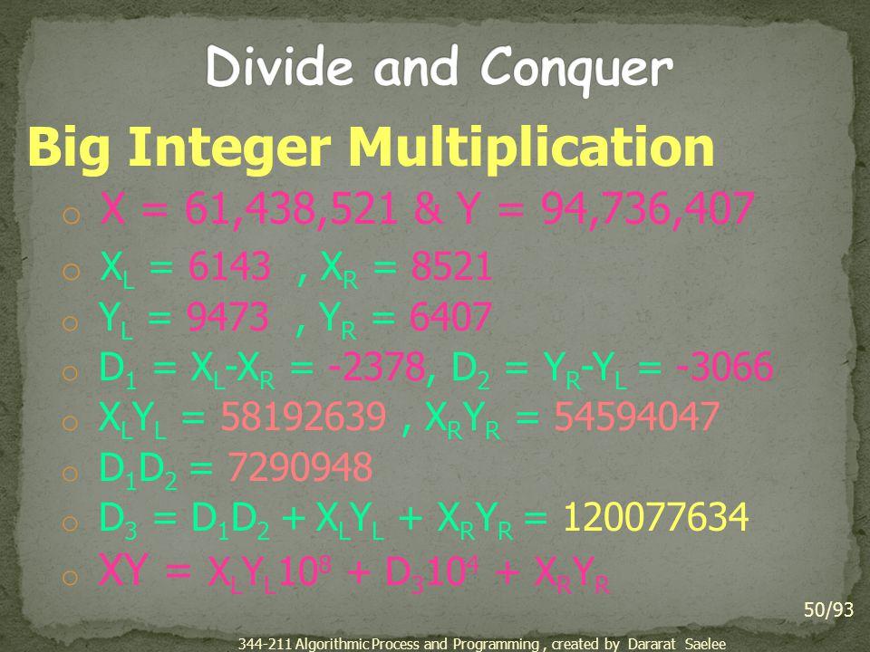 Big Integer Multiplication