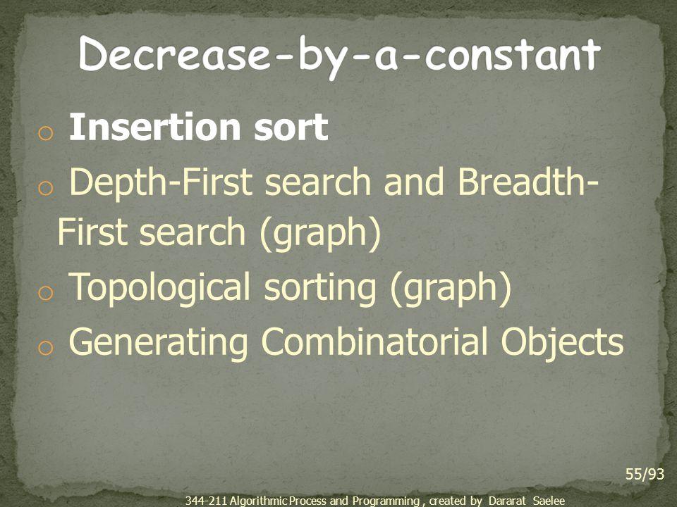 Decrease-by-a-constant