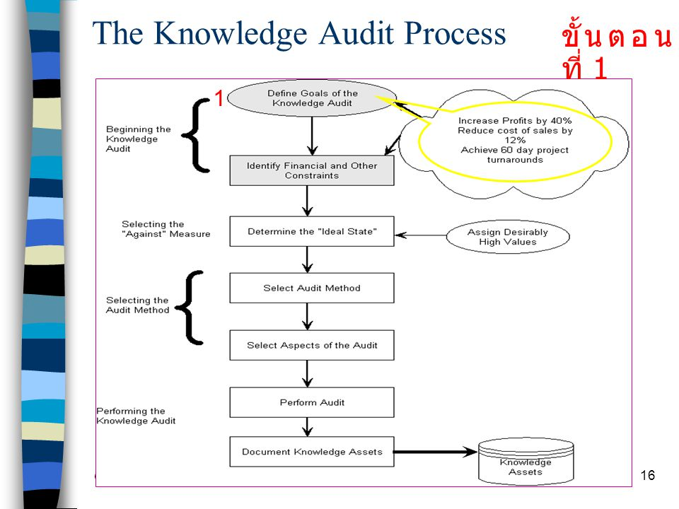 The Knowledge Audit Process