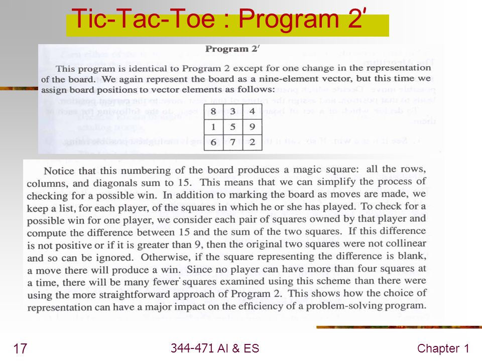 Tic-Tac-Toe : Program 2'