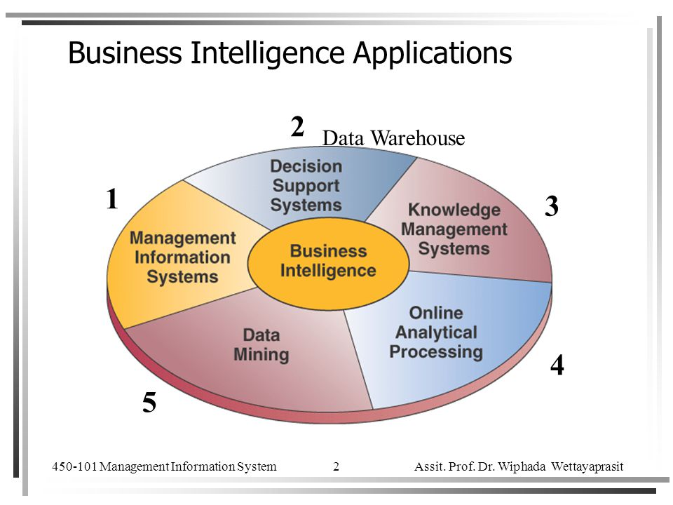 Business Intelligence Applications