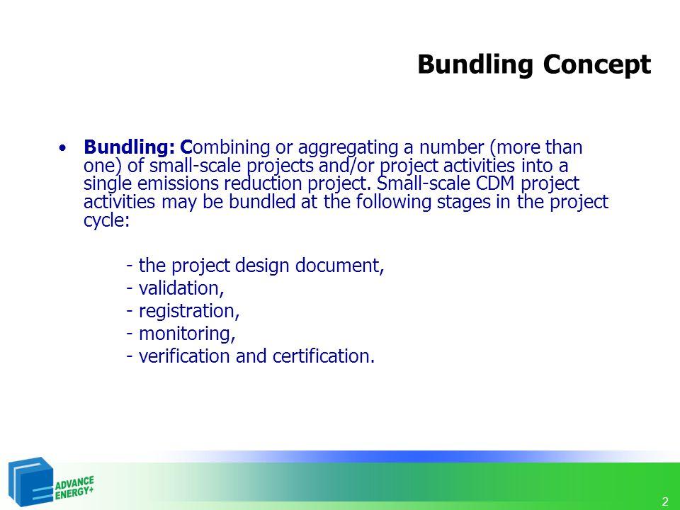 Bundling Concept