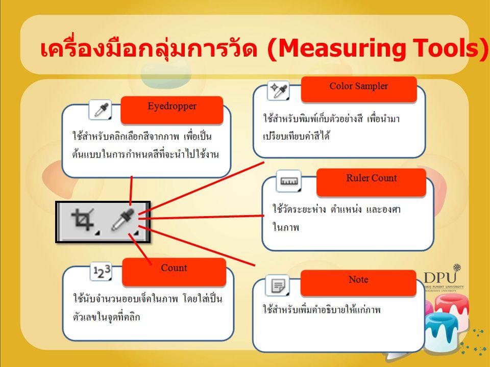 เครื่องมือกลุ่มการวัด (Measuring Tools)